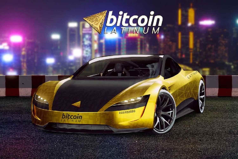 Bitcoin Latinum lanciert das weltweite Werbegeschenk für die Tesla Roadster-Sonderedition