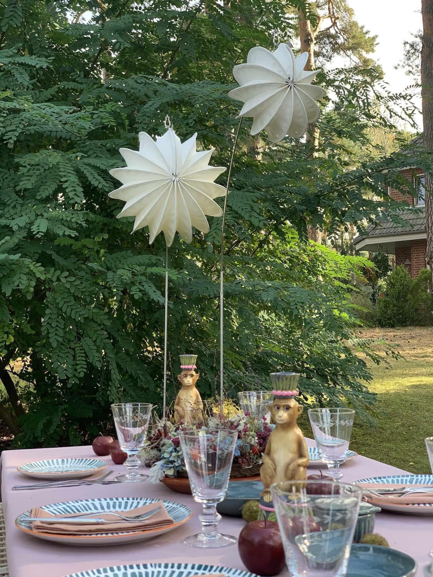 Lampions für den Start in die Gartensaison